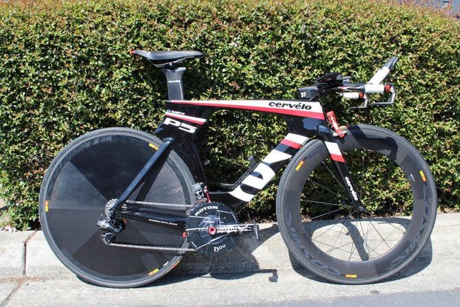 eba358abeb3 Cervélo P5 – Bike de Contra-Relógio da equipe Garmin-Barracuda. Que ...