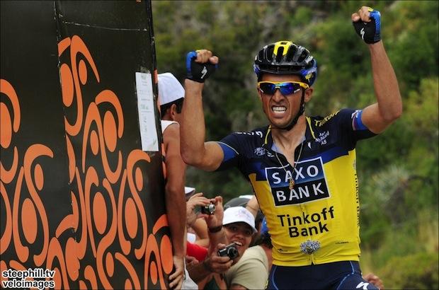 Tour de San Luis 2013 # 6: Alberto Contador vence a etapa ...
