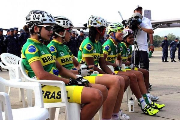 Seleção feminina de ciclismo de estrada Crédito: Divulgação
