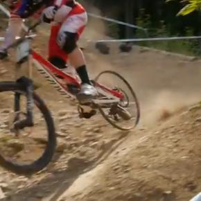 Vídeo: A HERÓICA descida de Aaron Gwin sem o pneu traseiro na Copa do Mundo de Downhill