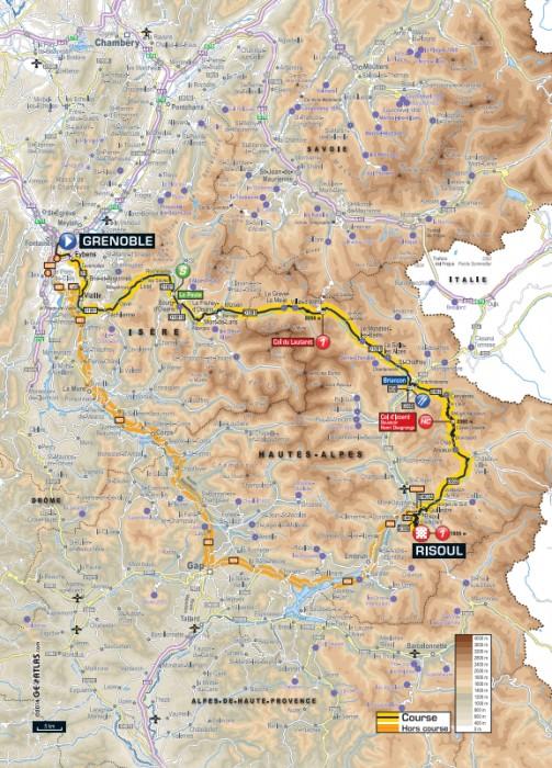 Etapa_14_Tour_de_France_2014_mapa