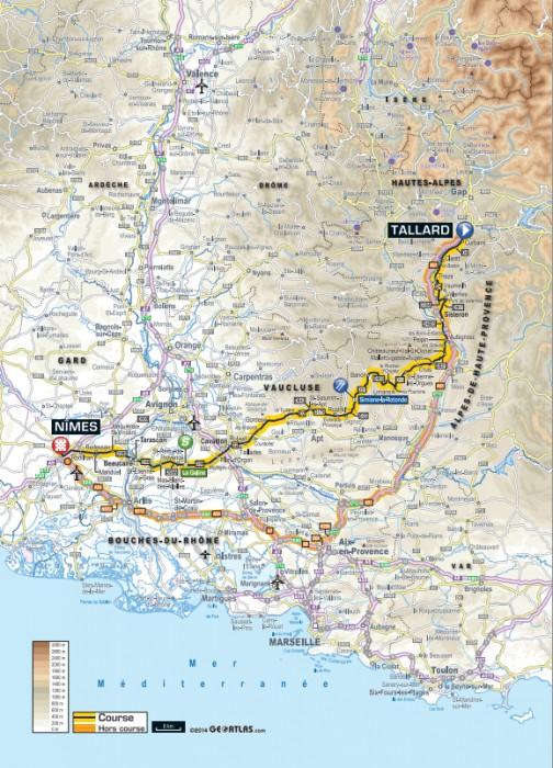 Etapa_15_Tour_de_France_2014_mapa