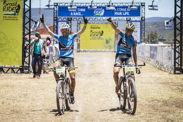 Bart Brentjens e Abraão Azevedo  Fabio Piva / Brasil Ride