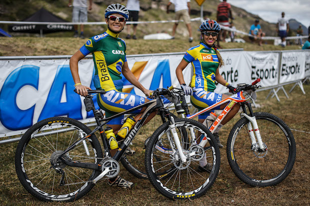 Érika Gramiscelli e Isabella Lacerda, as melhores das Américas  Fabio Piva / Brasil Ride