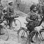 Soldados Indianos servindo as frentes do ocidente em 1916Imagens: Joe Robinson