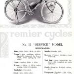 Anuncio de venda de bicicleta de oficial após a guerraImagens: Joe Robinson