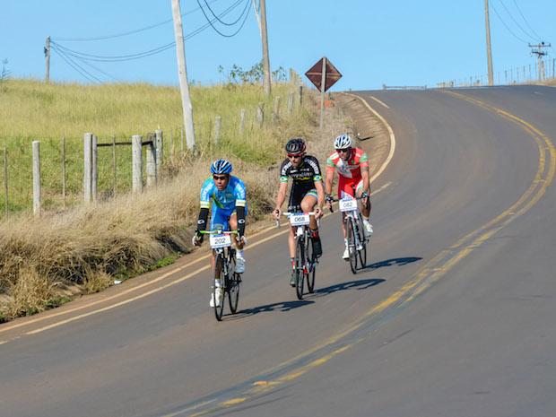 O trio liderou a prova inteira Foto: Ney Evangelista/Festival Brasil Ride