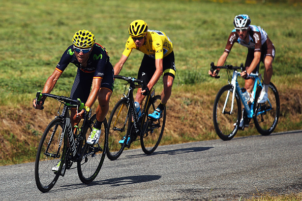 XXX in action during the sixteenth stage of the 2015 Tour de France, a 201km stage between Bourg de Peage and Gap, on July 20, 2015 in Bourg de Peage, France.