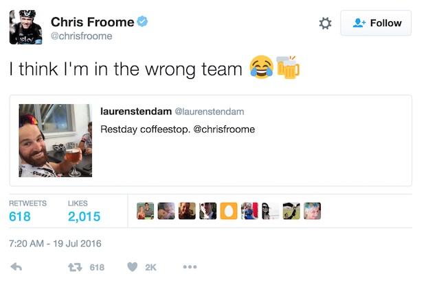 Froome_Tweet