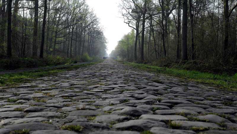Paralelepípedos da Paris-Roubaix