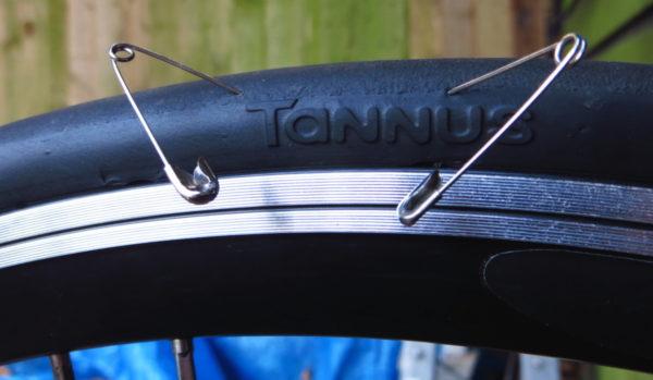 Pneu Tannus Aither, pneus sólido.