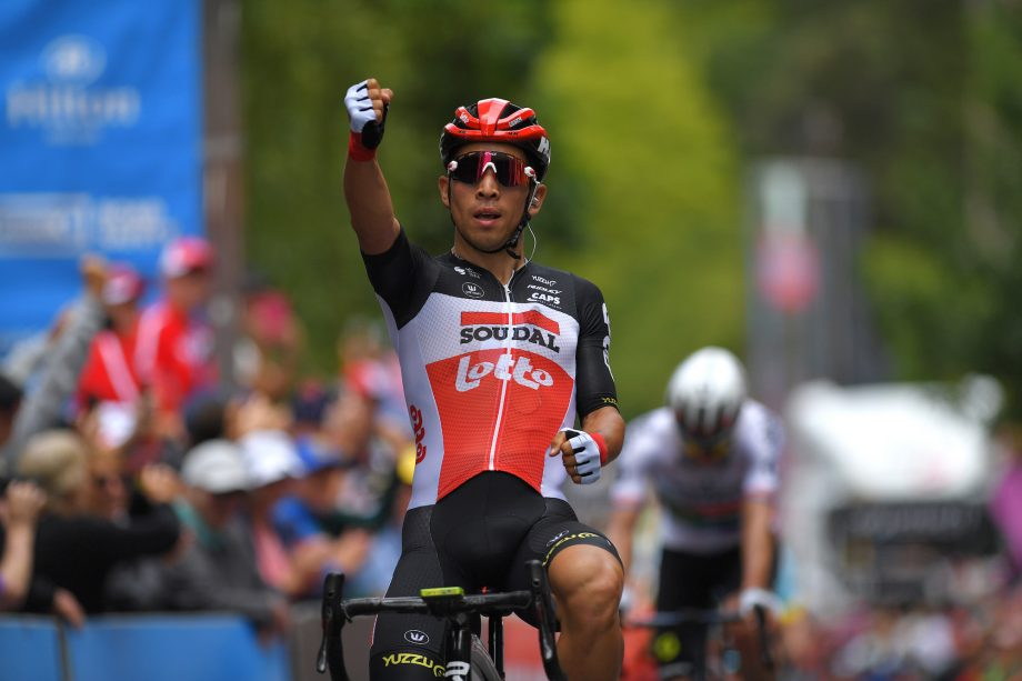 Caleb Ewan vence etapa 2 do Tour Down Under 2020.