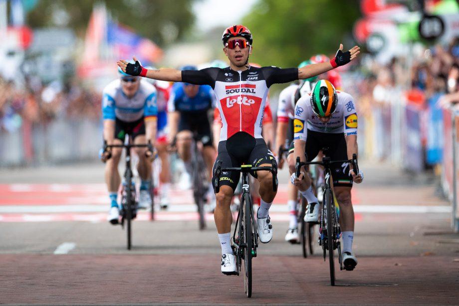 Caleb Ewan vence etapa 4 do Tour Down Under 2020.