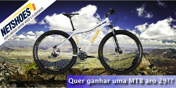 3936dc2f3e Quer ganhar uma Mountain Bike aro 29  – PraQuemPedala